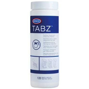 Urnex Τabz Ταμπλέτες Καθαρισμού Μηχανών Καφέ Φίλτρου