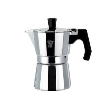 Pezzetti Luxexpress Μόκα Καφετιέρα Espresso 1 Φλιτζάνι