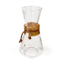 Chemex CM-1C Classic Καφετιέρα Drip Γυάλινη 3 Φλιτζάνια