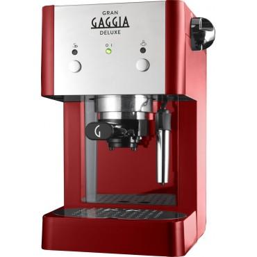 Gaggia Gran Deluxe Red RI8425/22 Lsb Οικιακή Μηχανή Espresso