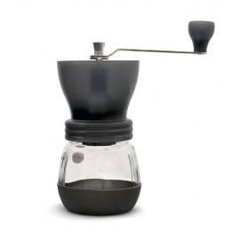 Hario Skerton Mill Grinding Coffee