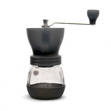 Hario Skerton Mill Grinding Coffee