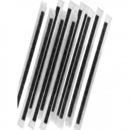 Καλαμάκια Freddo Μαύρο  18cm Ντυμένα 1/1  - 1000 τεμ
