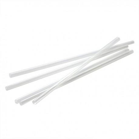 Straws Freddo White 18cm Bulk - 1000 pcs
