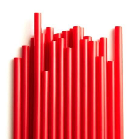 Καλαμάκια Freddo Κόκκινο  18cm Χύμα  - 1000 τεμ