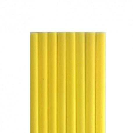 Καλαμάκια Freddo Κίτρινο  18cm Χύμα  - 1000 τεμ