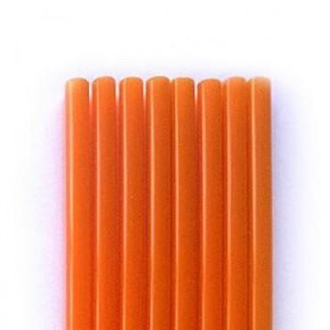 Freddo straws Orange 18cm Bulk - 1000 pcs