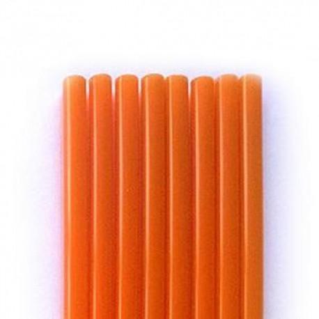 Καλαμάκια Freddo Πορτοκαλί  18cm Χύμα  - 1000 τεμ