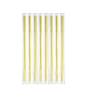 Καλαμάκια Freddo Κίτρινα 18cm Ντυμένα 1/1  - 1000 τεμ