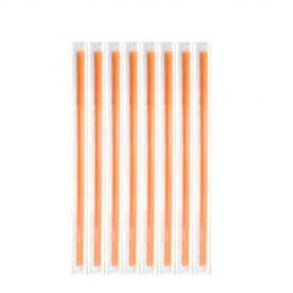 Καλαμάκια Freddo Πορτοκαλί 18cm Ντυμένα 1/1  - 1000 τεμ