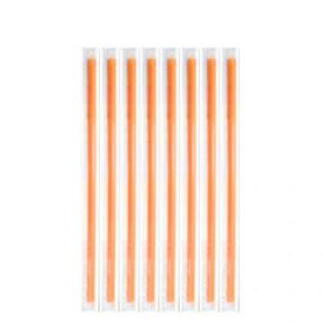 Straws Freddo Orange 18cm Dressed 1/1 - 1000 pcs