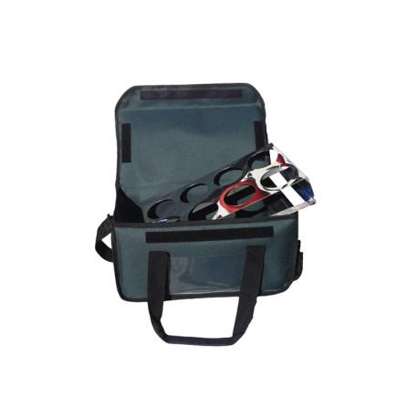 Ισοθερμική Τσάντα Delivery Καφέ 6 Θέσεων Πράσινη