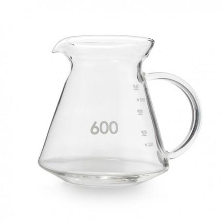 Yama GD-20 Glass Γυάλινη Κανάτα Σερβιρίσματος Καφέ