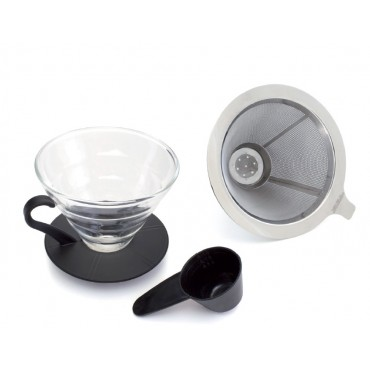 Yama Glass TGD-4 Glass Cone Dripper