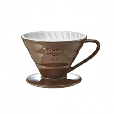 Tiamo Ceramic Dripper V02 Brown