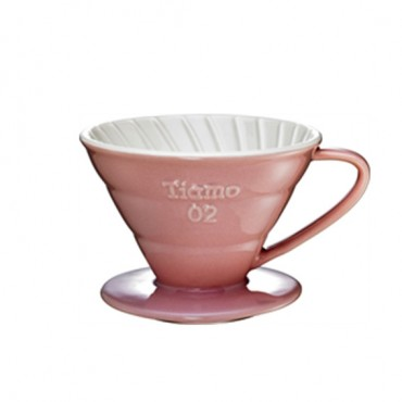 Tiamo Ceramic Dripper V02 Pink