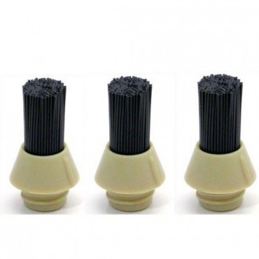 Pallo Coffee Tool Replacement Bristles - Pack of 3