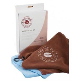 Crema Pro Set Barista Microfiber Cleaning Towels