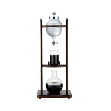 Tiamo Ξύλινο Cold Brew Water Coffee Dripper 10 Κούπες Ψηλό