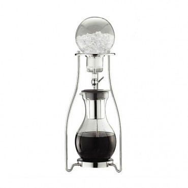 Tiamo Μεταλλικό Cold Water Coffee Dripper 10 Κούπες