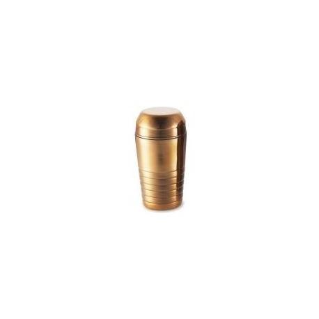 Shaker Inox With Strainer Gold