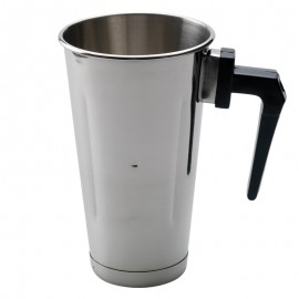Artemis Ανοξείδωτο Ποτήρι Φραπιέρας Με Χερούλι Για Freddo 900ml