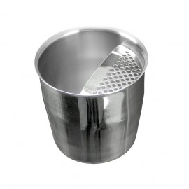 Short Pot Inox With Strainer 350ml