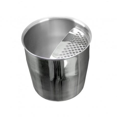 Κοντό Σκεύος Inox Με Σίτα 350ml - Κυπελοσυλέκτης Καφέ