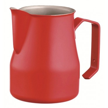 Belogia MPT 140004 350ml Milk Pitcher Inox Thick Red