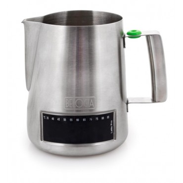 Belogia MPT 100002 1000ml Milk Pitcher with thermometer