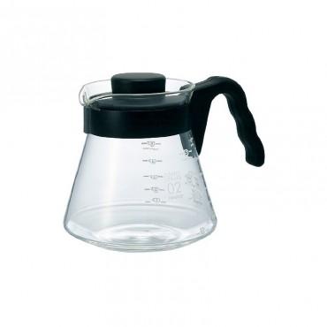Hario V60  Γυάλινη  Κανάτα Σερβιρίσματος  Καφέ 700 ml