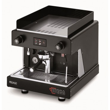 Wega Pegaso Opaque EVD 1 Group Μαύρη Αυτόματη Δοσομετρική Μηχανή Espresso