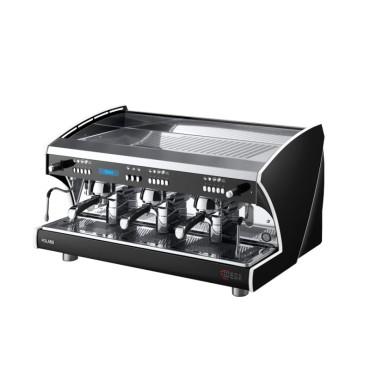 Wega Polaris Evd 3 Group Μαύρη Αυτόματη Δοσομετρική Μηχανή Espresso