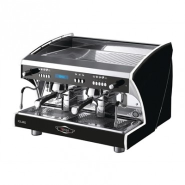 Wega Polaris Evd 2 Group Μαύρη Αυτόματη Δοσομετρική Μηχανή Espresso