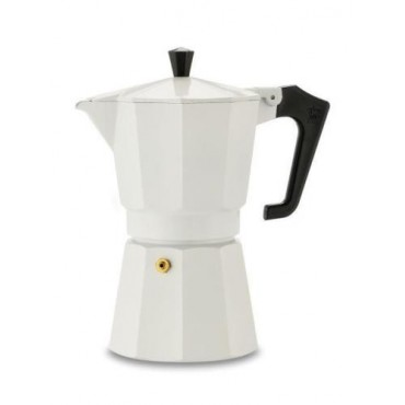 Pezzetti Italexpress Coffeemaker Moka Espresso White 1Cups