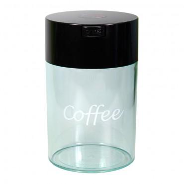 Δοχείο Αποθήκευσης Καφέ Vaccuum Μαύρο/Διάφανο 250gr