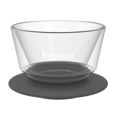 Brewista Smart Dripper™ Flat V Cone Glass Dripper